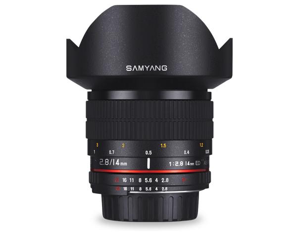 《新品》 SAMYANG(サムヤン) 14mm F2.8 Aspherical IF(CPU内蔵ニコン用)[ Lens | 交換レンズ ]【KK9N0D18P】【¥3,000-キャッシュバック対象】