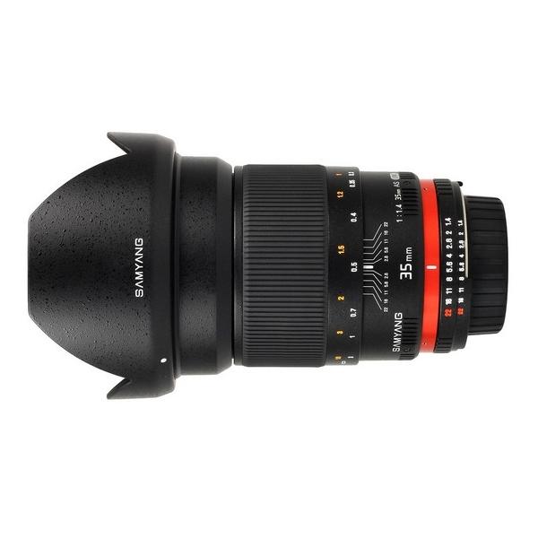 《新品》 SAMYANG(サムヤン) 35mm F1.4 ASPHERICAL IF(ニコン用)〔メーカー取寄品〕[ Lens | 交換レンズ ]【KK9N0D18P】【¥3,000-キャッシュバック対象】