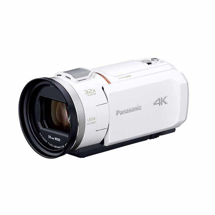 《新品》Panasonic (パナソニック) デジタル4Kビデオカメラ HC-VX1M ホワイト【KK9N0D18P】