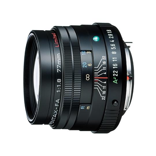 《新品》 PENTAX(ペンタックス) FA77mm F1.8 Limited ブラック[ Lens | 交換レンズ ]【KK9N0D18P】