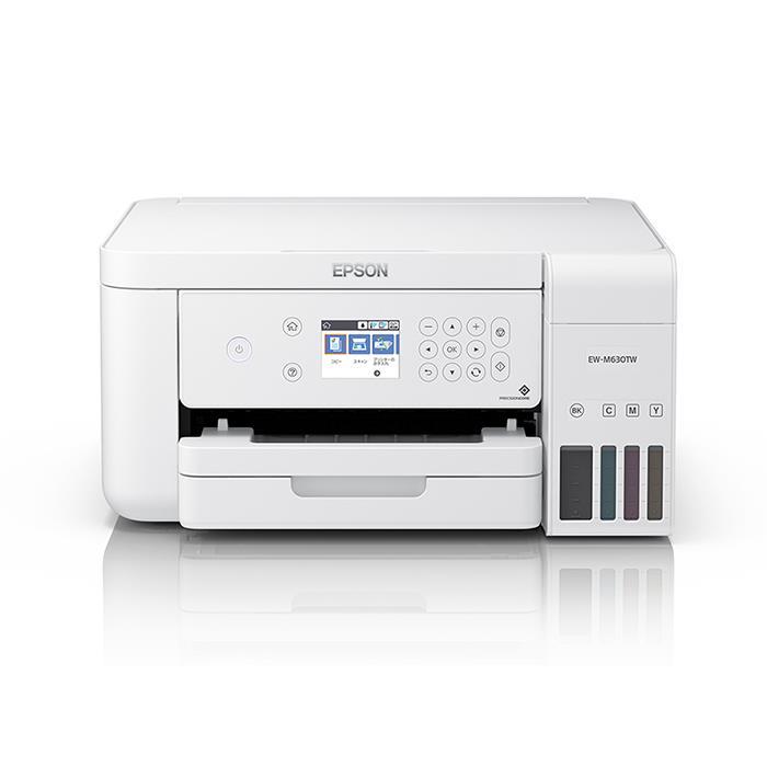 《新品アクセサリー》EPSON(エプソン) A4カラー複合プリンター EW-M630TW ホワイト 【KK9N0D18P】