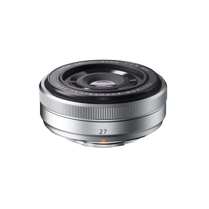 《新品》 FUJIFILM(フジフイルム) フジノン XF27mm F2.8 シルバー[ Lens | 交換レンズ ]【KK9N0D18P】