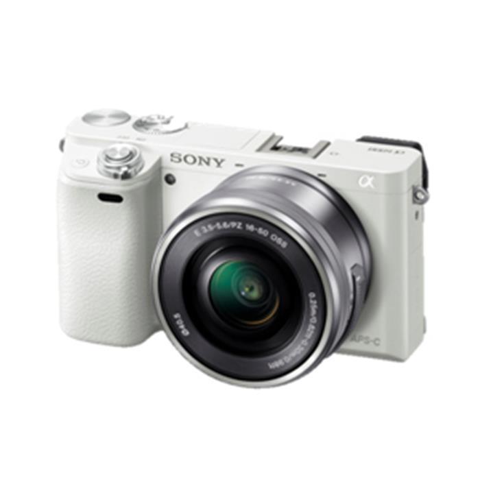 《新品》 SONY(ソニー) α6000パワーズームレンズキット ILCE-6000L W ホワイト 【¥5,000-キャッシュバック対象】[ ミラーレス一眼カメラ | デジタル一眼カメラ | デジタルカメラ ]【KK9N0D18P】
