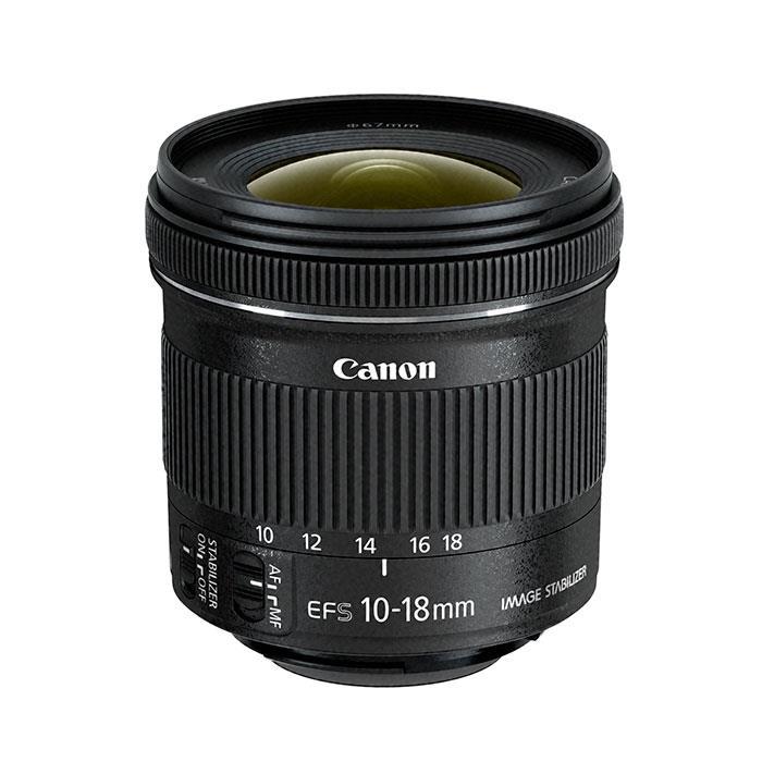 《新品》 Canon(キヤノン) EF-S10-18mm F4.5-5.6 IS STM [ Lens | 交換レンズ ]〔レンズフード別売〕【KK9N0D18P】