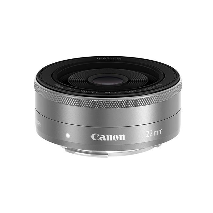 《新品》 Canon (キヤノン) EF-M22mm F2 STM シルバー [ Lens | 交換レンズ ]〔レンズフード別売〕【KK9N0D18P】