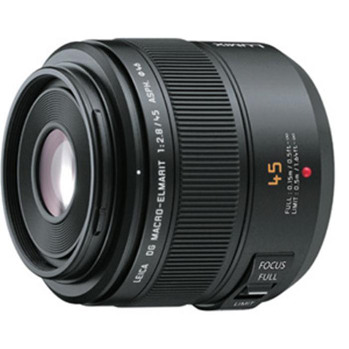 《新品》 Panasonic(パナソニック) LEICA DG MACRO-ELMARIT 45mm F2.8 ASPH. MEGA O.I.S. (マイクロフォーサーズ)[ Lens | 交換レンズ ]【KK9N0D18P】【ボディ同時購入でキャッシュバック対象】