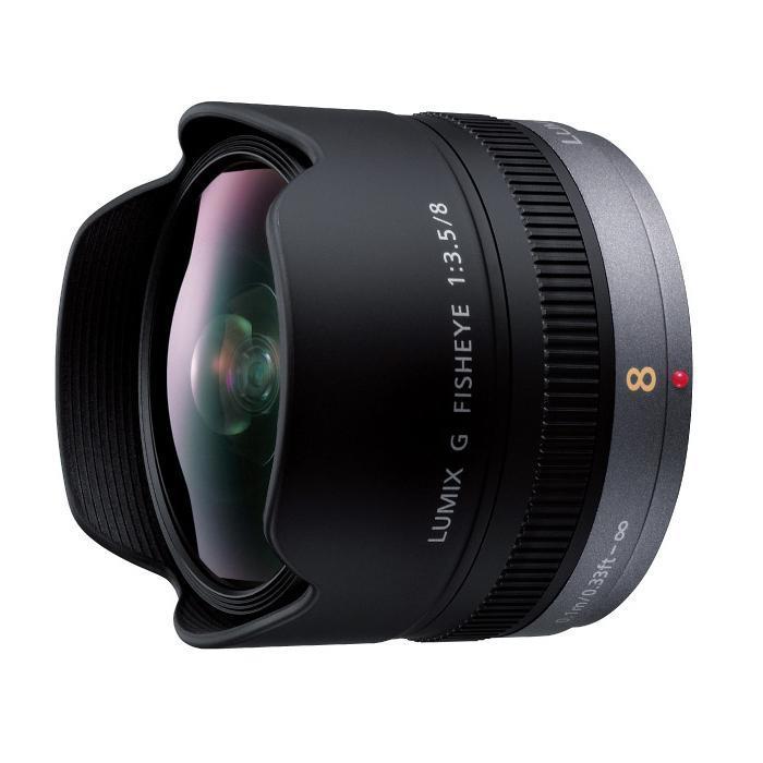 《新品》 Panasonic(パナソニック) LUMIX G FISHEYE 8mm F3.5 (マイクロフォーサーズ)[ Lens | 交換レンズ ]【KK9N0D18P】