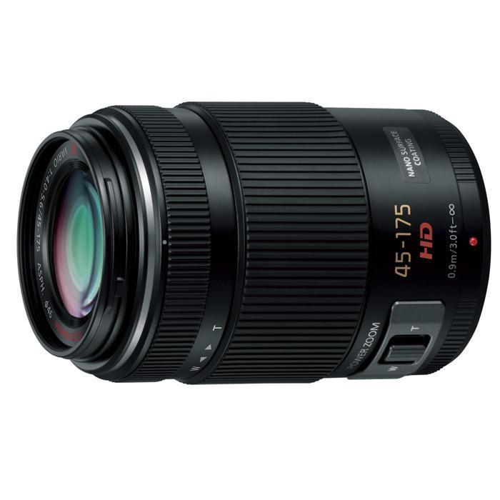 《新品》 Panasonic (パナソニック) LUMIX G X VARIO PZ 45-175mm F4.0-5.6 ASPH. POWER O.I.S. ブラック (マイクロフォーサーズ)[ Lens | 交換レンズ ] 【KK9N0D18P】