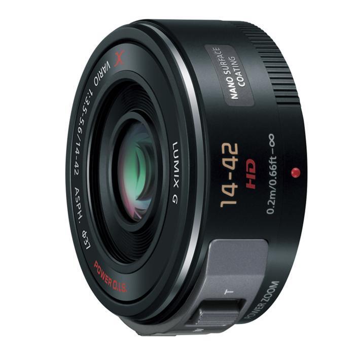 《新品》 Panasonic (パナソニック) LUMIX G X VARIO PZ 14-42mm F3.5-5.6 ASPH. POWER O.I.S. ブラック (マイクロフォーサーズ)[ Lens | 交換レンズ ]【KK9N0D18P】