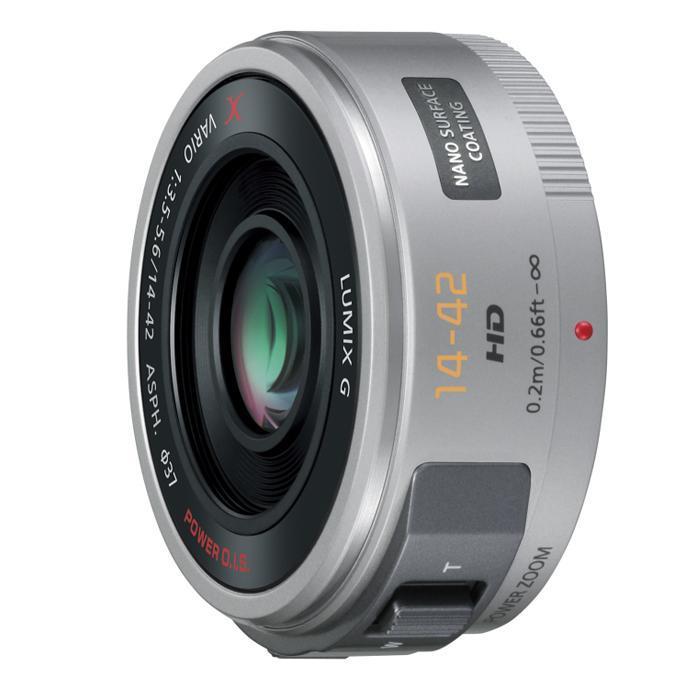 《新品》 Panasonic (パナソニック) LUMIX G X VARIO PZ 14-42mm F3.5-5.6 ASPH. POWER O.I.S. シルバー (マイクロフォーサーズ)[ Lens | 交換レンズ ]【KK9N0D18P】