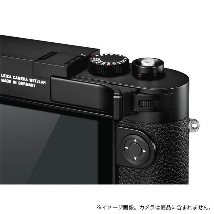 《新品アクセサリー》 Leica (ライカ) M10用 サムレスト ブラック 対応機種: M10 【KK9N0D18P】