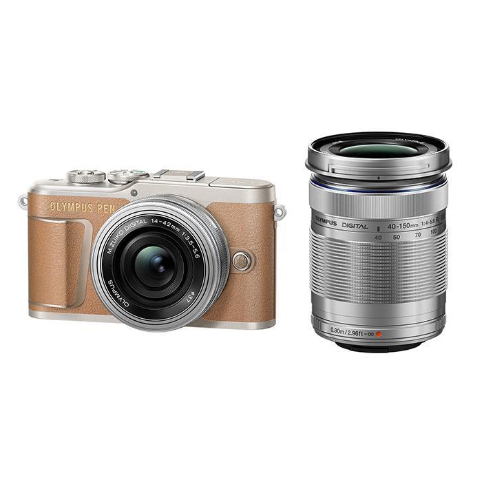【あす楽】《新品》OLYMPUS (オリンパス) PEN E-PL9 EZダブルズームキット ブラウン[ ミラーレス一眼カメラ | デジタル一眼カメラ | デジタルカメラ ] 【KK9N0D18P】