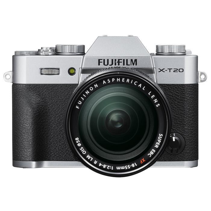 《新品》 FUJIFILM(フジフイルム) X-T20 レンズキット シルバー[ ミラーレス一眼カメラ   デジタル一眼カメラ   デジタルカメラ ]【KK9N0D18P】