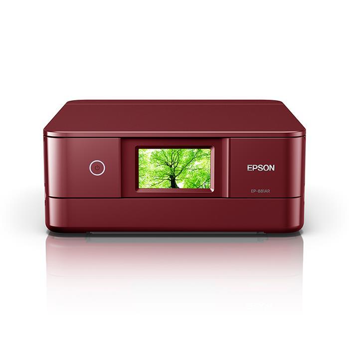 《新品》 EPSON (エプソン) Colorio EP-811AR レッド【KK9N0D18P】【インクカートリッジセット同時購入で最大¥3,000-相当キャッシュバック】