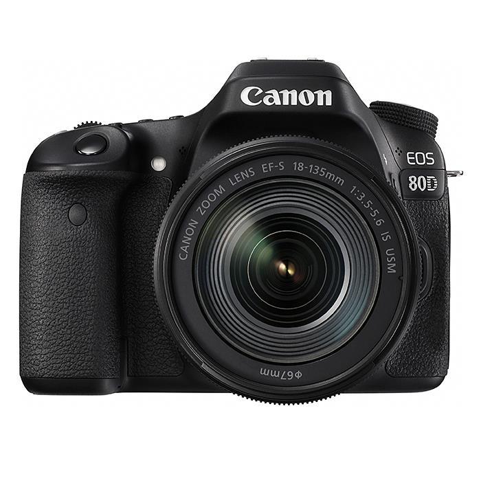 《新品》 Canon(キヤノン) EOS 80D EF-S18-135 IS USM レンズキット [ デジタル一眼レフカメラ | デジタル一眼カメラ | デジタルカメラ ]【KK9N0D18P】