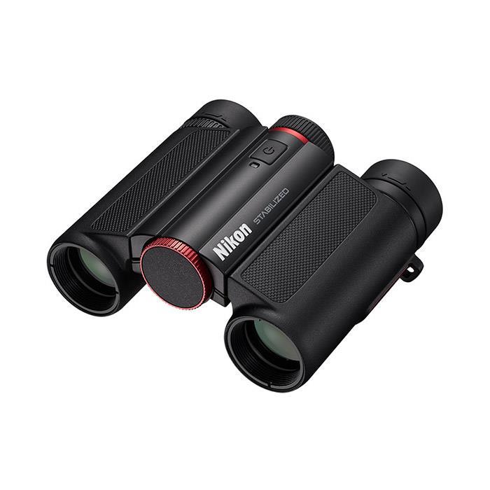 《新品アクセサリー》 Nikon (ニコン) 双眼鏡 10x25 STABILIZED レッド 【KK9N0D18P】