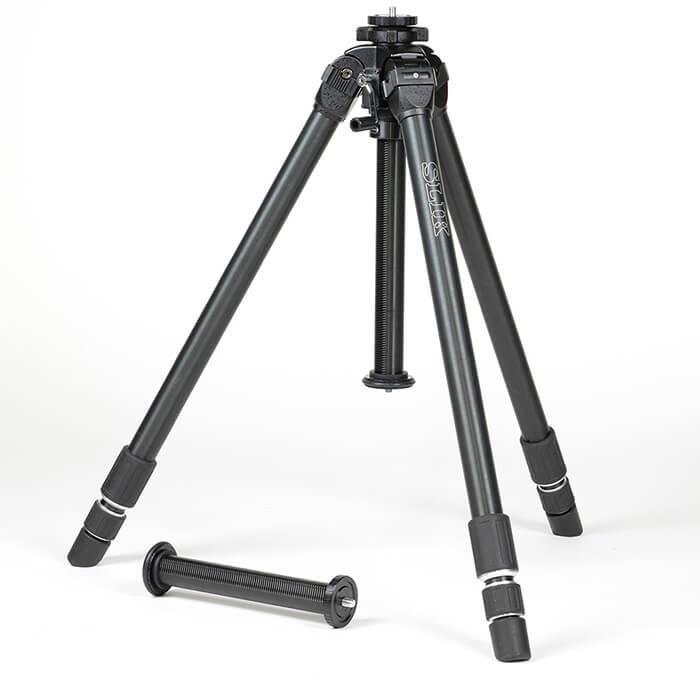《新品アクセサリー》 SLIK (スリック) 超大型アルミ3段三脚 ザ プロフェッショナル NS 脚のみ 【MapCamera購入特典!メーカー保証2年付き】[最大パイプ径: 36mm / 最大耐荷重: 10kg / 雲台別売 ]【KK9N0D18P】