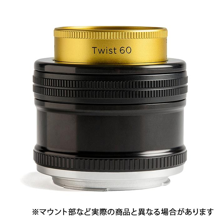 《新品》 Lensbaby (レンズベビー) Twist 60 60mm F2.5 (キヤノン用)[ Lens   交換レンズ ]【KK9N0D18P】【¥4,000-キャッシュバック対象】