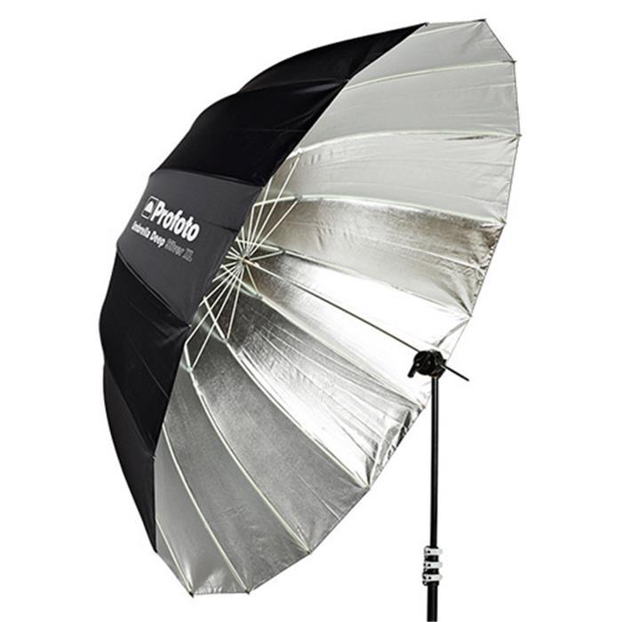 《新品アクセサリー》 Profoto(プロフォト) アンブレラ ディープ シルバー XL (165cm) #100981〔メーカー取寄品〕【KK9N0D18P】