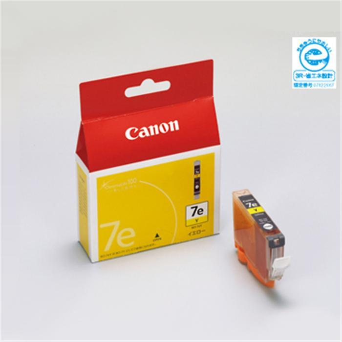 限定モデル 代引き手数料無料 《新品アクセサリー》 Canon インクタンク KK9N0D18P イエロー BCI-7eY 卓越