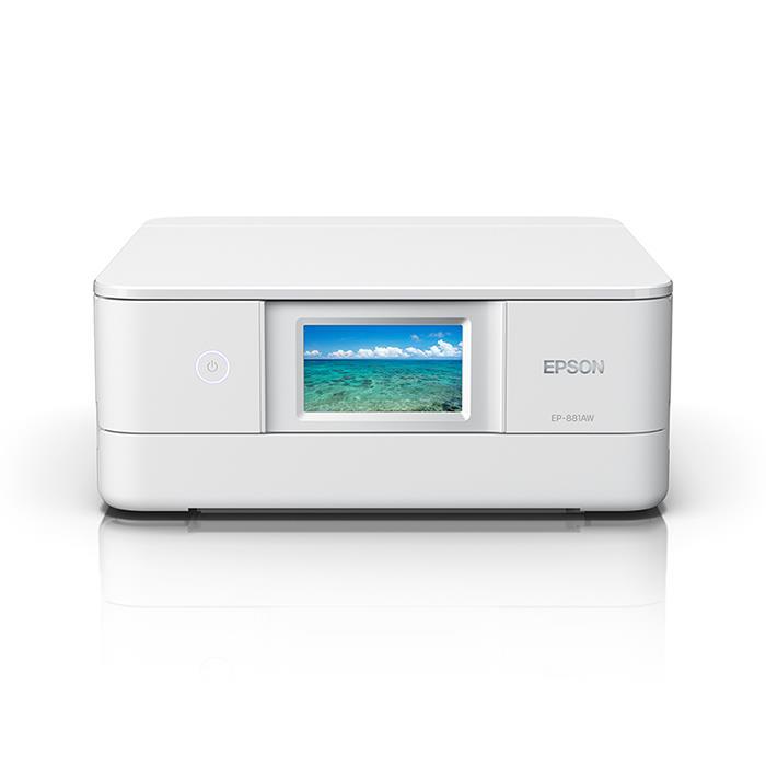 《新品》 EPSON (エプソン) Colorio EP-881AW ホワイト【KK9N0D18P】