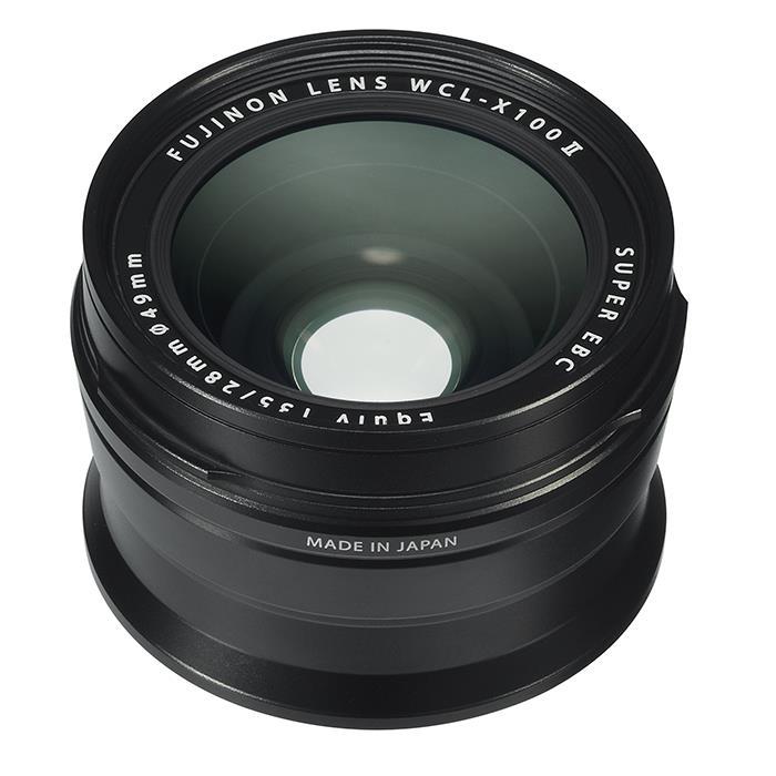 《新品アクセサリー》 FUJIFILM (フジフィルム) ワイドコンバージョンレンズ WCL-X100 II ブラック【KK9N0D18P】