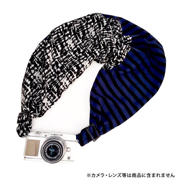 《新品アクセサリー》 Sakura Sling(サクラカメラスリング) サクラカメラスリング(NEWモザイク&ストライプ/マットブラック) SCS-L56 sizeL【KK9N0D18P】