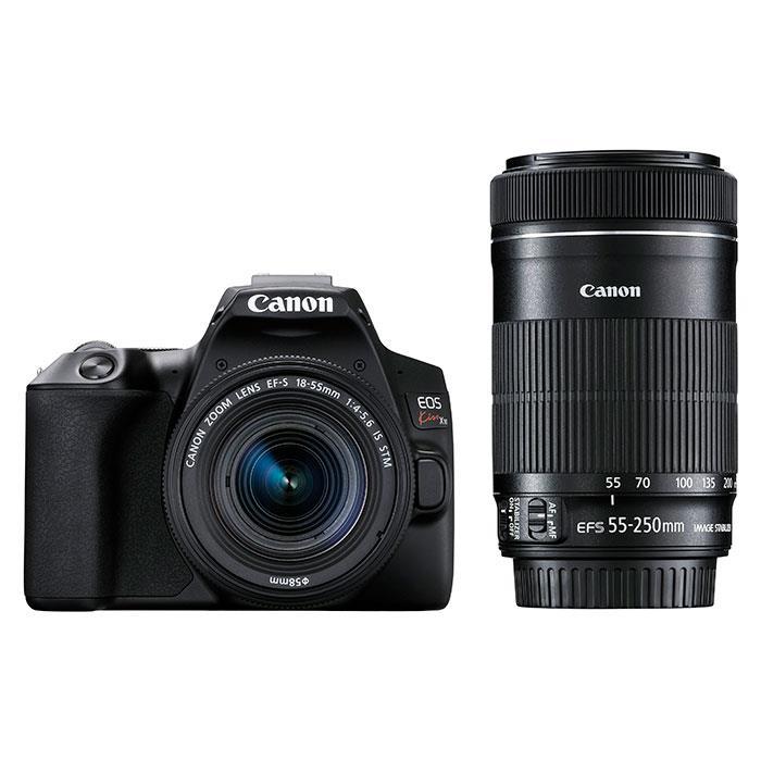 《新品》 Canon(キヤノン) EOS Kiss X10 ダブルズームキット ブラック [ デジタル一眼レフカメラ | デジタル一眼カメラ | デジタルカメラ ] 【KK9N0D18P】