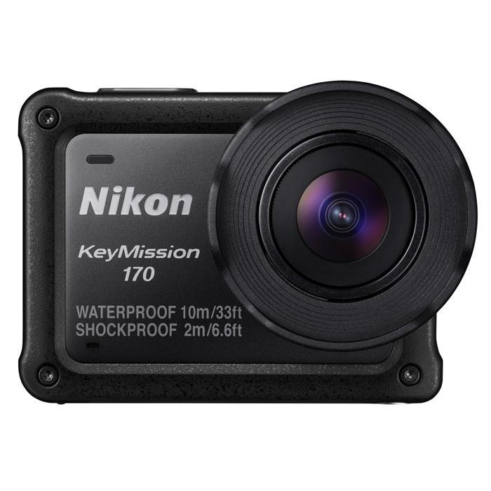 《新品》 Nikon(ニコン) KeyMission 170 ブラック [ ビデオカメラ ]【KK9N0D18P】