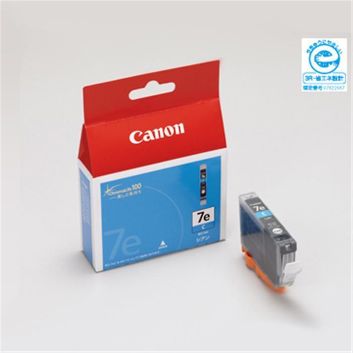 代引き手数料無料 《新品アクセサリー》 現品 Canon インクタンク BCI-7eC 驚きの値段で シアン KK9N0D18P