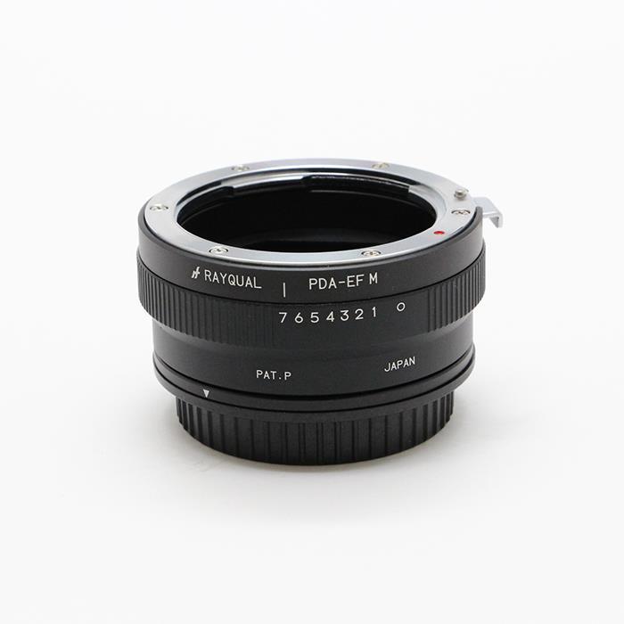《新品アクセサリー》 RAYQUAL マウントアダプター ペンタックスK(DA)レンズ/キヤノンEOS Mボディ用 絞り操作可〔メーカー取寄品〕