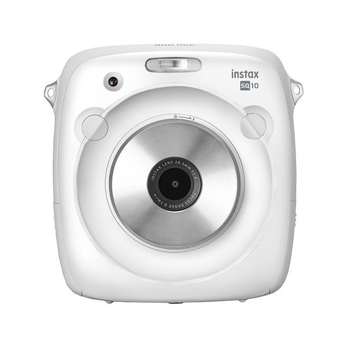 《新品》FUJIFILM (フジフイルム) ハイブリッドインスタントカメラ instax SQUARE SQ10 ホワイト【KK9N0D18P】