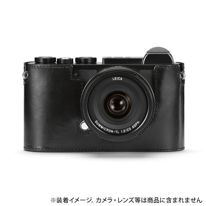 《新品アクセサリー》 Leica (ライカ) CL用レザープロテクター ブラック【KK9N0D18P】