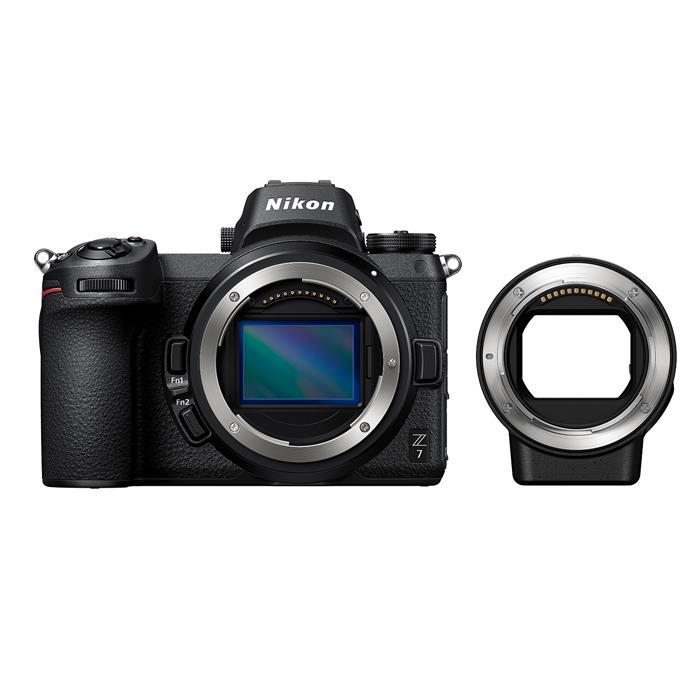 《新品》 Nikon (ニコン) Z7 FTZマウントアダプターキット 【発売記念キャンペーン対象】[ ミラーレス一眼カメラ | デジタル一眼カメラ | デジタルカメラ ]【KK9N0D18P】【¥20,000-キャッシュバック対象】