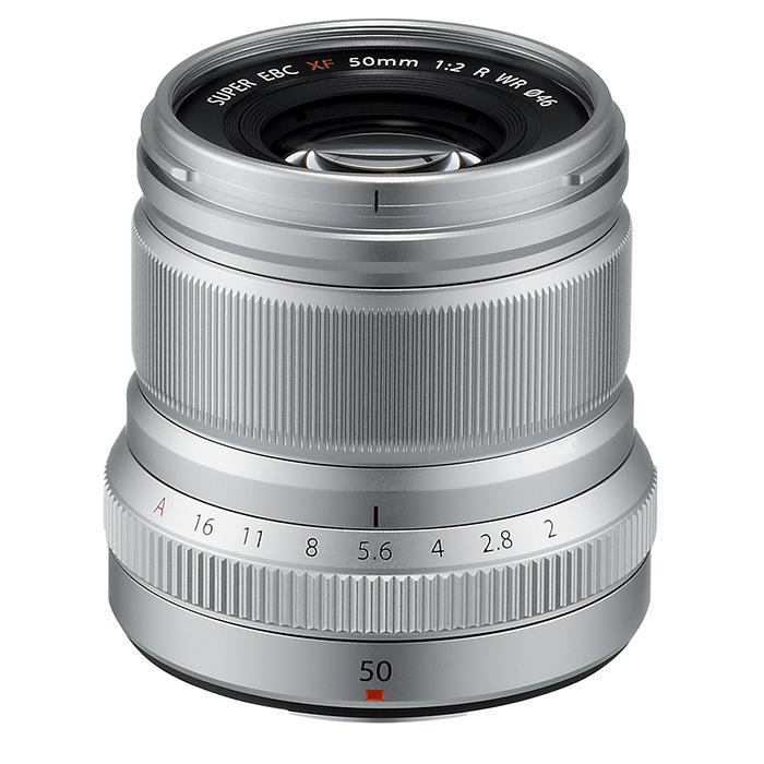 《新品》 FUJIFILM(フジフイルム) フジノン XF50mm F2 R WR シルバー【¥5,000-キャッシュバック対象】【KK9N0D18P】