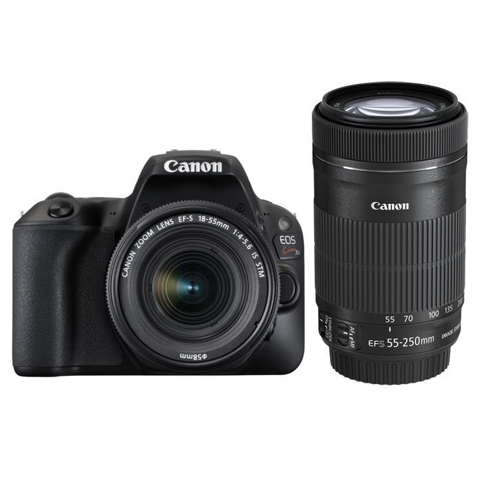 《新品》 Canon(キヤノン) EOS Kiss X9 ダブルズームキット ブラック[ デジタル一眼レフカメラ | デジタル一眼カメラ | デジタルカメラ ]【KK9N0D18P】