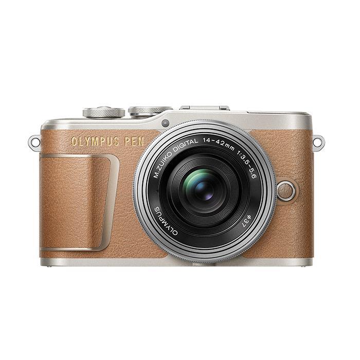 《新品》OLYMPUS (オリンパス) PEN E-PL9 14-42mm EZレンズキット ブラウン[ ミラーレス一眼カメラ   デジタル一眼カメラ   デジタルカメラ ] 【KK9N0D18P】