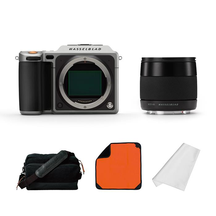 《新品》 HASSELBLAD (ハッセルブラッド) X1Dエクスペリエンスパッケージ シルバー【数量限定特価】【XCDレンズの追加購入で¥50,000-キャッシュバック】[ 中判デジタルカメラ | デジタル一眼カメラ | デジタルカメラ ]
