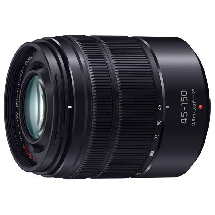《新品》 Panasonic(パナソニック) LUMIX G VARIO 45-150mm F4.0-5.6 ASPH. MEGA O.I.S. マットブラック(マイクロフォーサーズ)[ Lens | 交換レンズ ]【KK9N0D18P】