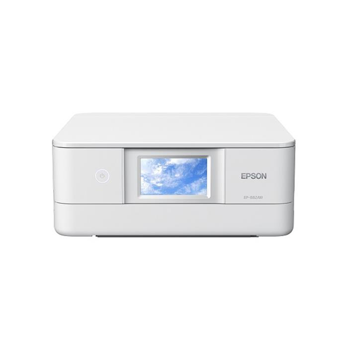 《新品》 EPSON (エプソン) Colorio EP-882AW ホワイト 【KK9N0D18P】【指定インクと同時購入でキャッシュバック対象】