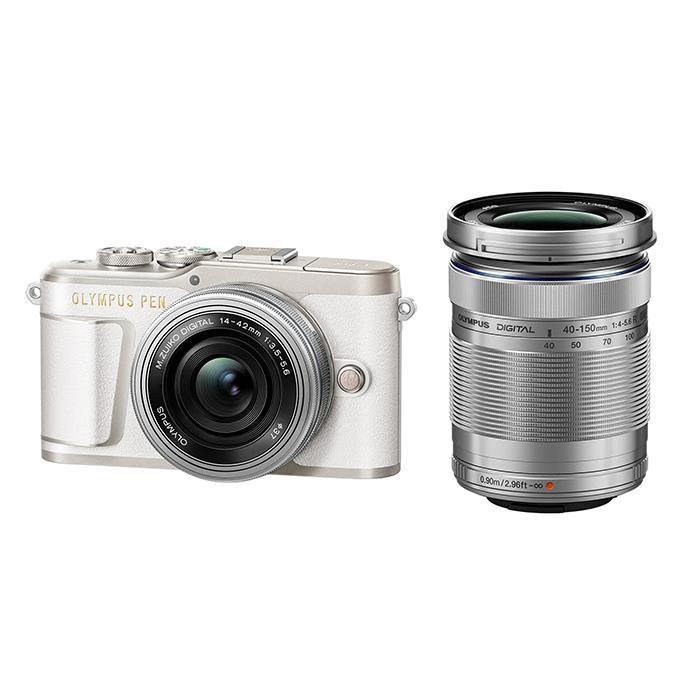PEN | (オリンパス) 【あす楽】《新品》OLYMPUS 【KK9N0D18P】 | ミラーレス一眼カメラ ] ホワイト[ EZダブルズームキット E-PL9 デジタル一眼カメラ デジタルカメラ