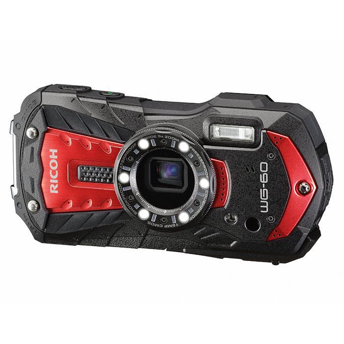 《新品》 RICOH (リコー) WG-60 レッド[ コンパクトデジタルカメラ ]【KK9N0D18P】