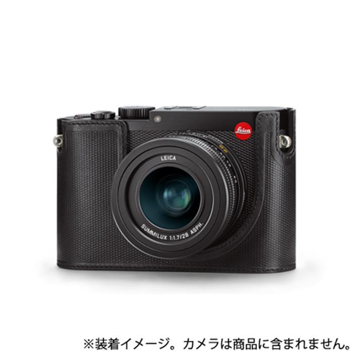 《新品アクセサリー》 Leica(ライカ) Q用プロテクター レザー ブラック【KK9N0D18P】