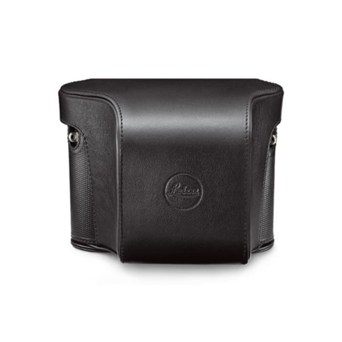 《新品アクセサリー》 Leica(ライカ) Q用速写ケース レザー ブラック【KK9N0D18P】
