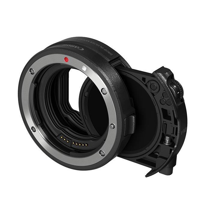 《新品アクセサリー》 Canon (キヤノン) ドロップインフィルターマウントアダプター EF-EOS R 可変式NDフィルターA付【KK9N0D18P】