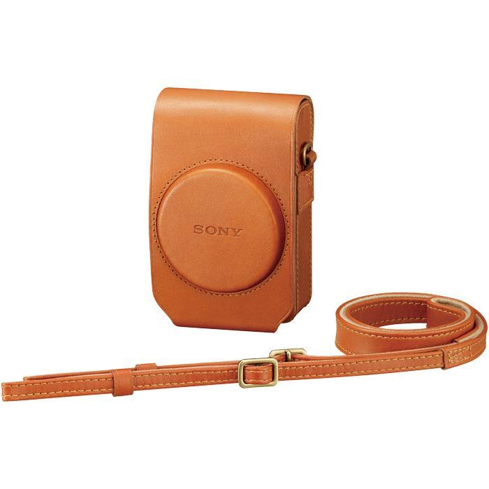 《新品アクセサリー》 SONY(ソニー) ソフトキャリングケース LCS-RXG TC ブラウン(対応機種:RX100、RX100M2、RX100M3、RX100M4)【KK9N0D18P】