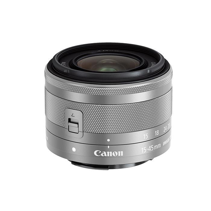 《新品》 Canon (キヤノン) EF-M15-45mm F3.5-6.3 IS STM シルバー [ Lens | 交換レンズ ]【KK9N0D18P】