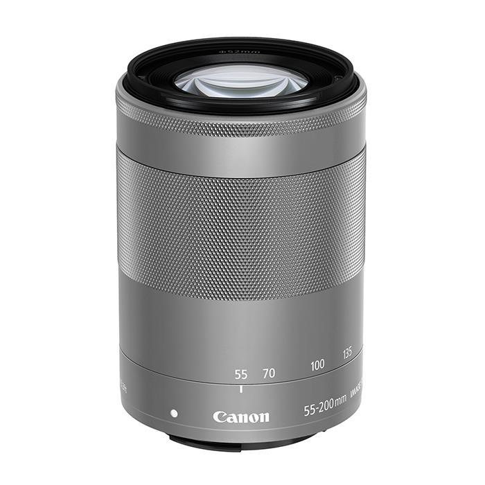 【代引き手数料無料!】 《新品》 Canon (キヤノン) EF-M55-200mm F4.5-6.3 IS STM シルバー [ Lens | 交換レンズ ]〔レンズフード別売〕【KK9N0D18P】