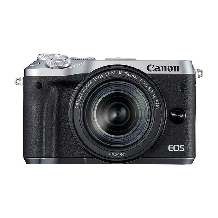 《新品》 Canon (キヤノン) EOS M6 EF-M18-150 IS STM レンズキット シルバー[ ミラーレス一眼カメラ | デジタル一眼カメラ | デジタルカメラ ]【KK9N0D18P】