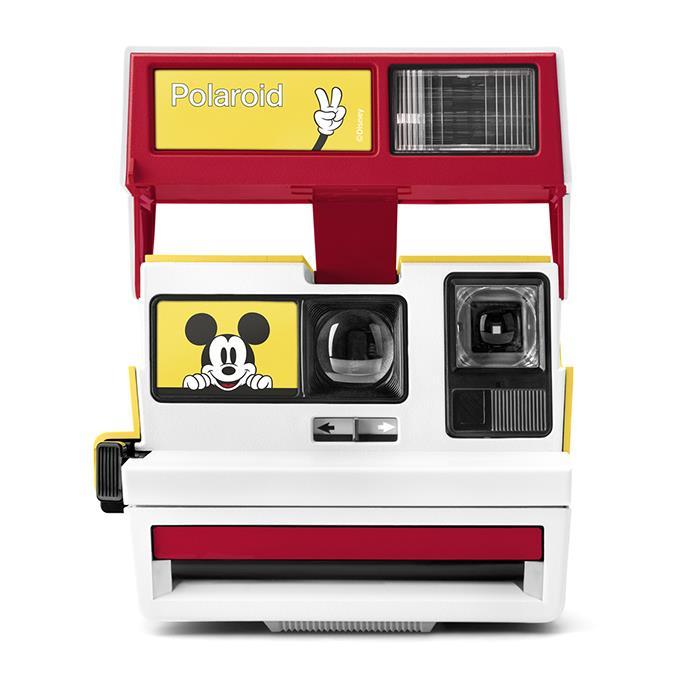 《新品》 Polaroid Originals(ポラロイド オリジナルズ) 600 box camera Mickey 90th Edition【KK9N0D18P】